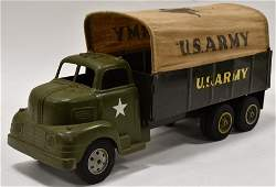Louis Marx US Army Transport Truck