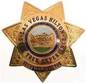 Obsolete Las Vegas Hilton Hotel Security Badge