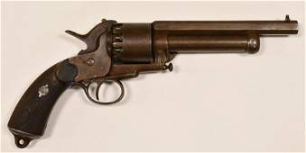 Rare LeMat Paris Civil War Confederate Revolver