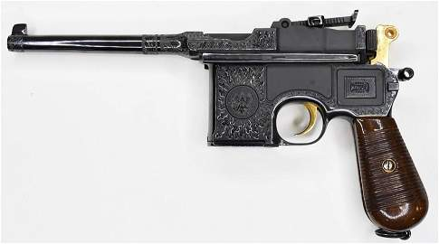 "Mauser ""General Officers"" C96 Broomhandle Pistol"