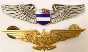 Nicaragua Air Force FAN Pilots Wings Badge & More