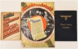Lot Of WWII Era German Propaganda Books