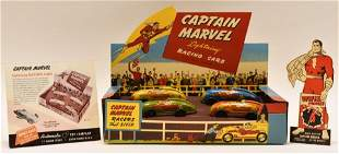 "Captain Marvel ""Lightning"" Racing Cars Set"