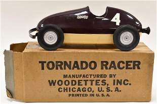 Woodette Tornado Air Powered #4 Racer
