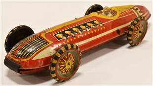Marx Tin Windup Super Streamline #12 Racer