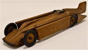 Kingsbury Golden Arrow Windup Racer