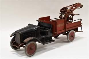 Original Buddy L Wrecking Truck