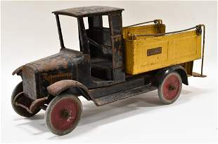 Original Buddy L Ice Delivery Truck