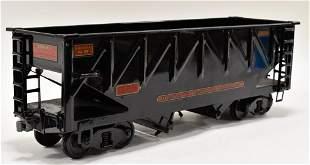 Buddy L Outdoor Railroad Bottom Dump Hopper Car