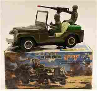 T.N. Japan Tin Battery Op. Ranger Jeep