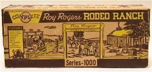 Marx Roy Rogers Rodeo Ranch Set No. 3988