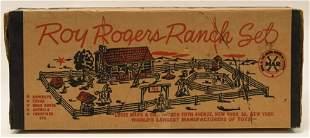 Marx Roy Rogers Ranch Set No. 3979-3980