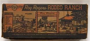 Marx Roy Rogers Rodeo Ranch Set No. 3985