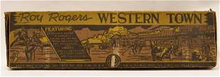 Marx Roy Rogers Western Town Set No. 4258