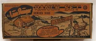 Marx The Lone Ranger Ranch Set Series 500 No. 3969