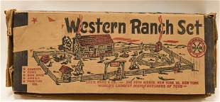 Marx Western Ranch Play Set