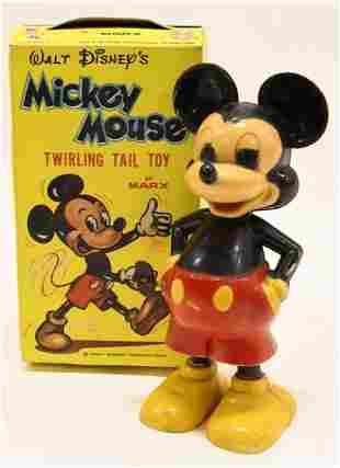 Marx Walt Disney's Mickey Mouse Twirling Tail Toy