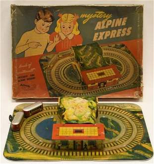 Automatic Toy Co Mystery Alpine Express Tin Windup