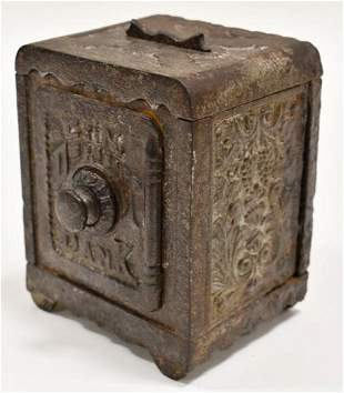 Grey Iron Casting Co. Cast Iron Coin Deposit Bank
