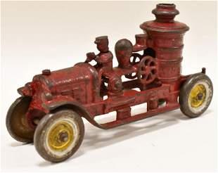 Kenton Cast Iron Pumper Fire Truck