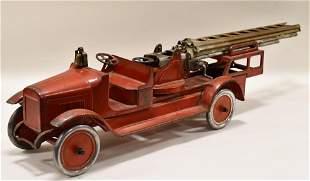 "Original Buddy ""L"" Aerial Ladder Fire Truck"