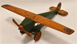 Steelcraft Army Scout NX107 Airplane