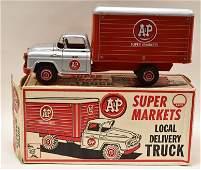 Marx A&P Super Markets Local Delivery Truck