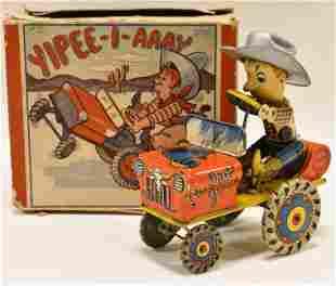Wyandotte Tin Litho Windup Humphrey Mobile