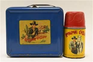 1950 Aladdin Hopalong Cassidy Metal Lunch Box