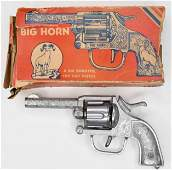 Kilgore Big Horn Six Shooter Cap Gun Pistol