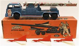 Ideal Toys Steve Canyon's Glider Bomb Truck