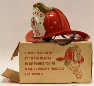 Texaco Fire Chief Hat w/ Microphone