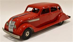 Restored Kingsbury Windup Chrysler Airflow Car