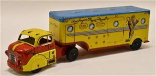 Marx Tin Roy Rogers and Trigger Truck & Trailer