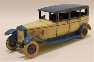 German Tin Litho Windup Baron 540 Limousine