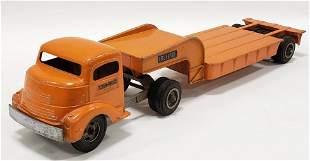 Smith Miller GMC Truck w/ Fruehauf Lowboy Trailer