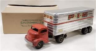 Smith Miller GMC Truck with P.I.E Trailer