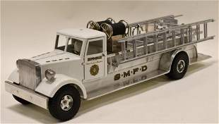 White Fred Thompson Smith Miller MIC Fire Truck