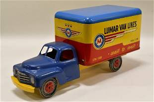 Marx Studebaker Lumar Van Lines Box Truck