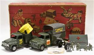 Buddy L Army Combination Play Set in Box #5561