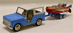 Buddy L Colt Pickup Truck w/ Boat & Trailer
