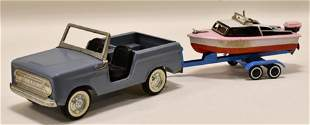 Nylint Ford Bronco Truck w/ Boat & Trailer