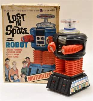 Remco Battery Op. Lost in Space Robot