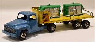 Buddy L Farm Machinery Hauler Truck