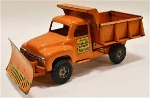 Buddy L Hydraulic Highway Maintence Truck w/ Plow