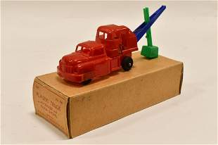 All Metal Products Plastic Truck with Steam Shovel