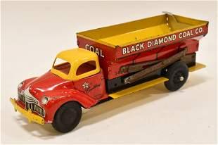 Courtland Tin Litho Windup Black Diamond Coal Co.