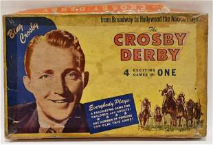 H. Fishlove & Co. The Crosby Derby Board Game