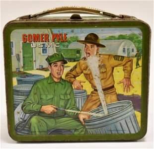 Aladin Ind. Gomer Pyle USMC Metal Lunch Box