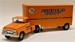 Tonka Private Label Allied Van Semi Truck